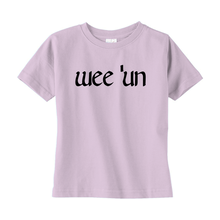 "Load image into Gallery viewer, ""Wee 'Un"" Toddler T-shirt - Mountain Thyme"