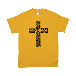 Celtic Cross T-shirt - Mountain Thyme