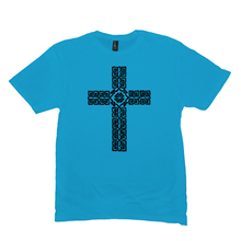 Load image into Gallery viewer, Celtic Cross Premium T-shirt - Mountain Thyme