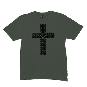 Celtic Cross Premium T-shirt - Mountain Thyme