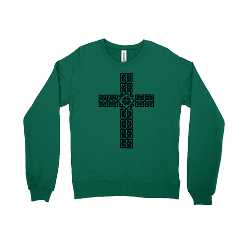 Celtic Cross Sweatshirt - Mountain Thyme