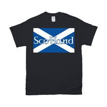 Load image into Gallery viewer, Flag of Scotland T-Shirt - Mountain Thyme