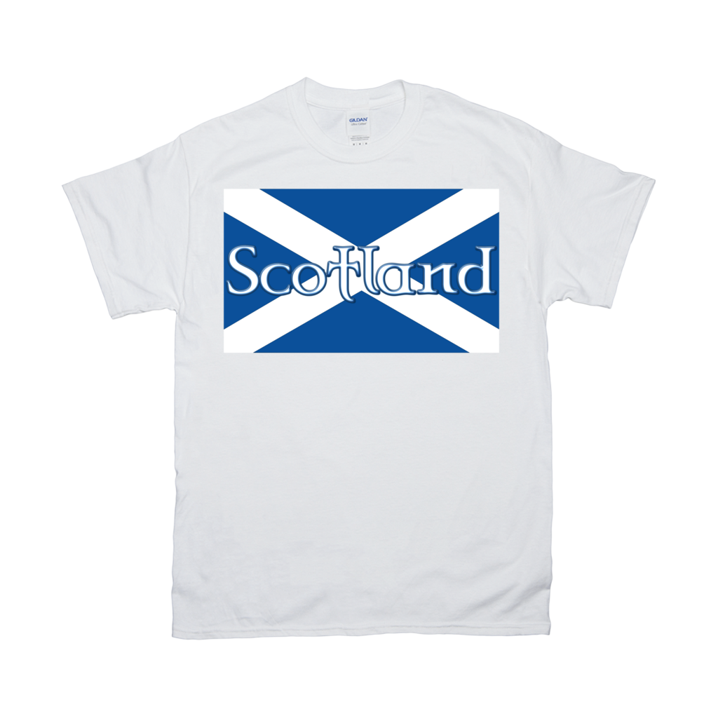 Flag of Scotland T-Shirt - Mountain Thyme