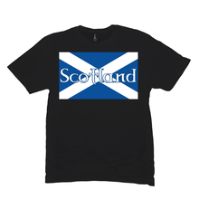 Load image into Gallery viewer, Flag of Scotland Premium T-shirt - Mountain Thyme