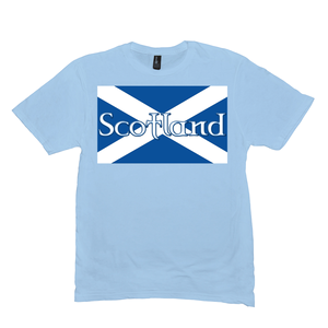 Flag of Scotland Premium T-shirt - Mountain Thyme