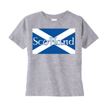 Load image into Gallery viewer, Flag of Scotland Toddler T-shirt - Mountain Thyme