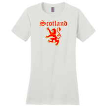 Load image into Gallery viewer, Scotland Lion Rampant Ladies T-shirt - Mountain Thyme