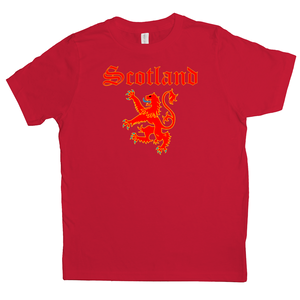 Scotland Lion Rampant Youth T-shirt - Mountain Thyme