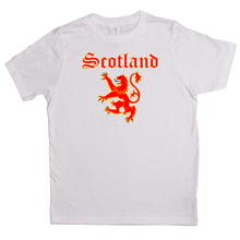Load image into Gallery viewer, Scotland Lion Rampant Youth T-shirt - Mountain Thyme