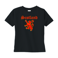 Load image into Gallery viewer, Scotland Lion Rampant Toddler T-shirt - Mountain Thyme