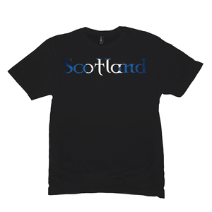Scotland Saltire Premium T-Shirt - Mountain Thyme