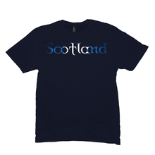 Load image into Gallery viewer, Scotland Saltire Premium T-Shirt - Mountain Thyme