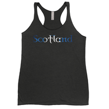 Load image into Gallery viewer, Scotland Saltire Ladies Tank Top - Mountain Thyme