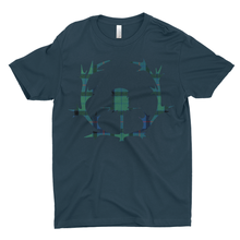 Load image into Gallery viewer, Tartan Thistle Premium T-shirt - Mountain Thyme