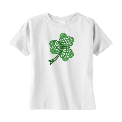Celtic Shamrock Toddler T-shirt - Mountain Thyme