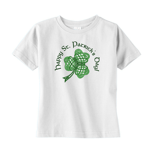 Happy St. Patrick's Day! Toddler T-shirt - Mountain Thyme