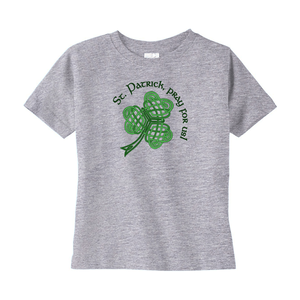 St. Patrick, Pray for Us! Toddler T-shirt - Mountain Thyme