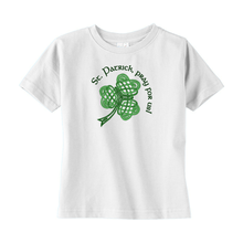 Load image into Gallery viewer, St. Patrick, Pray for Us! Toddler T-shirt - Mountain Thyme