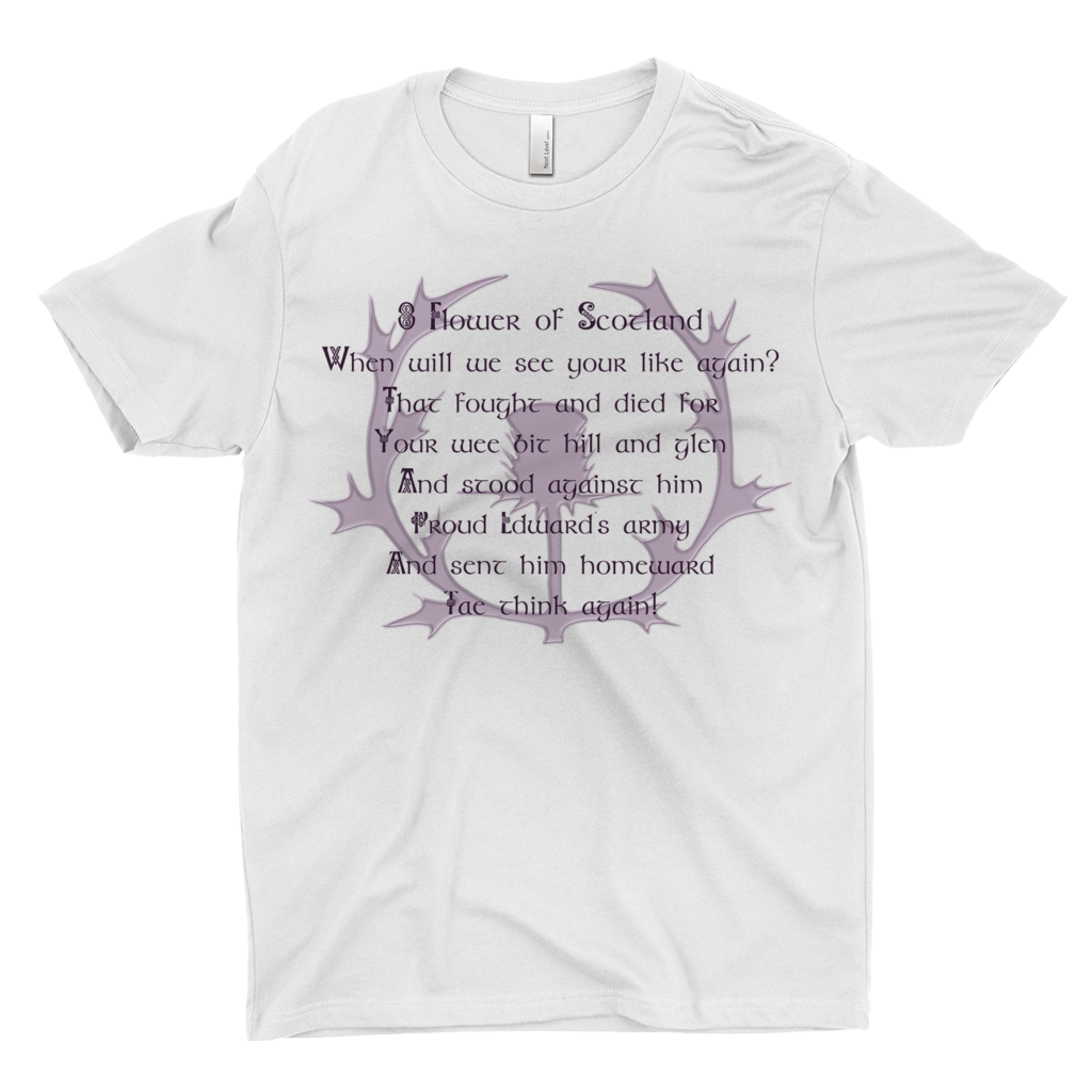 Flower of Scotland Premium T-shirt - Mountain Thyme