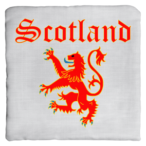 Scotland Double-sided Throw Pillow - Mountain Thyme