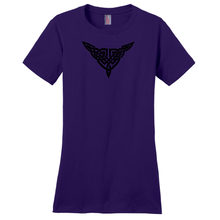 "Load image into Gallery viewer, ""Ashleigh"" Celtic Knot Ladies T-shirt - Mountain Thyme"