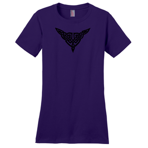 """Ashleigh"" Celtic Knot Ladies T-shirt - Mountain Thyme"