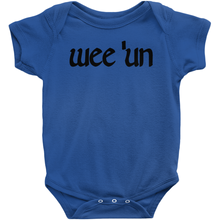 "Load image into Gallery viewer, ""Wee 'un"" Baby Bodysuit - Mountain Thyme"
