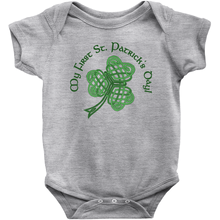 Load image into Gallery viewer, My First St. Patrick's Day! Baby Bodysuit - Mountain Thyme