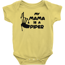 Load image into Gallery viewer, My Mama is a Piper Baby Bodysuit - Mountain Thyme