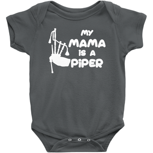 My Mama is a Piper Baby Bodysuit - Mountain Thyme