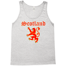 Load image into Gallery viewer, Scotland Lion Rampant Premium Tank Top - Mountain Thyme