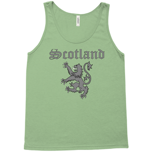 Scotland Lion Rampant Premium Tank Top - Mountain Thyme