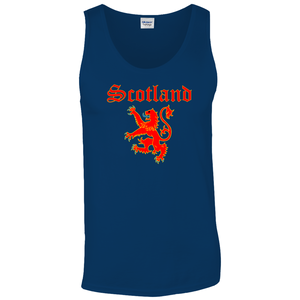 Scotland Lion Rampant Tank Top - Mountain Thyme