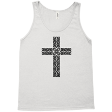 Load image into Gallery viewer, Celtic Cross Premium Tank Top - Mountain Thyme