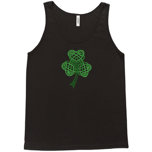 Celtic Shamrock Premium Tank Top - Mountain Thyme