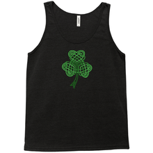Load image into Gallery viewer, Celtic Shamrock Premium Tank Top - Mountain Thyme