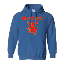 Load image into Gallery viewer, Scotland Lion Rampant Hoodie Pullover Sweatshirt - Mountain Thyme