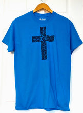 Load image into Gallery viewer, Celtic Cross Adult T-shirt - Mountain Thyme