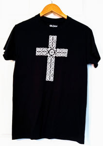 Celtic Cross Adult T-shirt - Mountain Thyme
