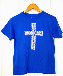 Celtic Cross Toddler and Youth T-shirts ***SPECIAL***SCREEN PRINTED***READY TO SHIP*** - Mountain Thyme