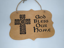 Load image into Gallery viewer, Small Celtic Wooden Signs