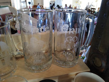 Load image into Gallery viewer, Irish Etched Glass Beer Mug