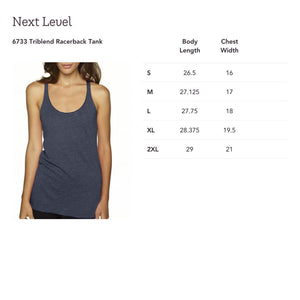 Ashleigh Knot Ladies Tank top ***SPECIAL***SCREEN PRINTED***READY TO SHIP*** - Mountain Thyme