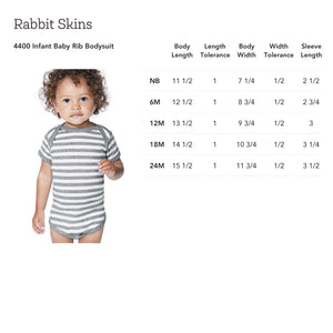"""Wee 'un"" Baby Bodysuit - Mountain Thyme"