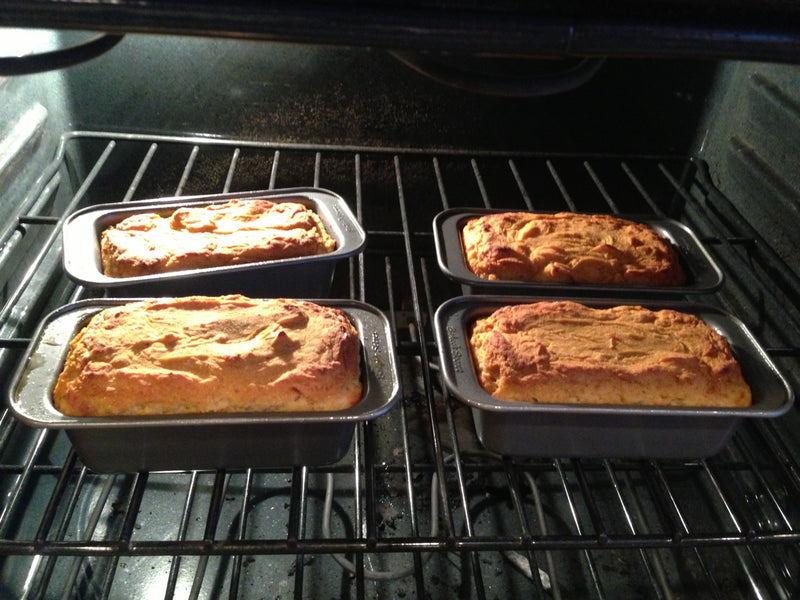 Pumpkin Pie Protein Bread