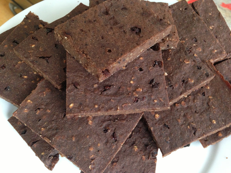 Thin Mint Protein Brownies