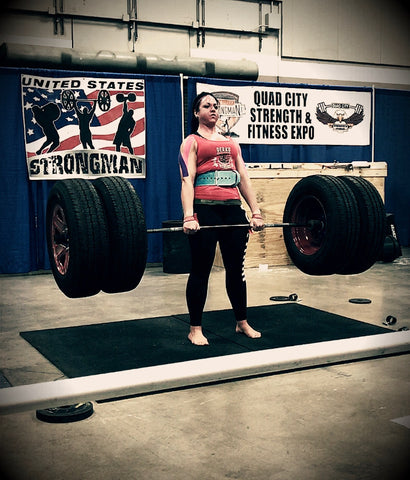 Mandi Tire Deadlift