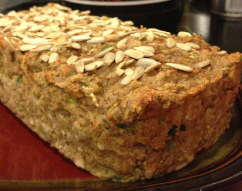 Pumpkin Zucchini Bread (Gluten Free and No Added Sugar)