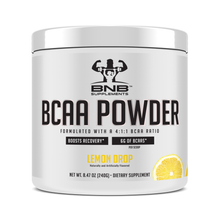 Load image into Gallery viewer, Instantized BCAA Powder 4:1:1 Lemon Drop