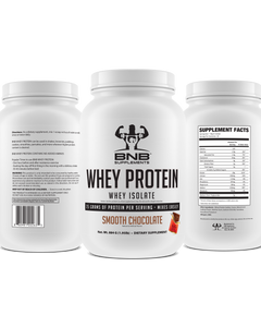 100% Whey Protein Isolate - Smooth Chocolate